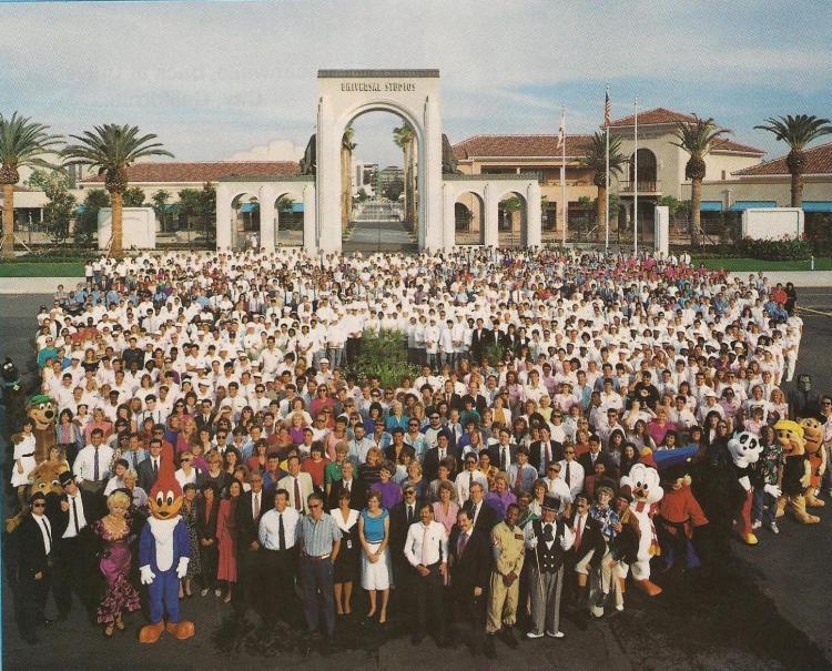 Grand opening - Universal Studios Florida in 1990
