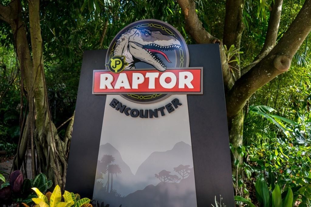 Jurassic Park Raptor Encounter