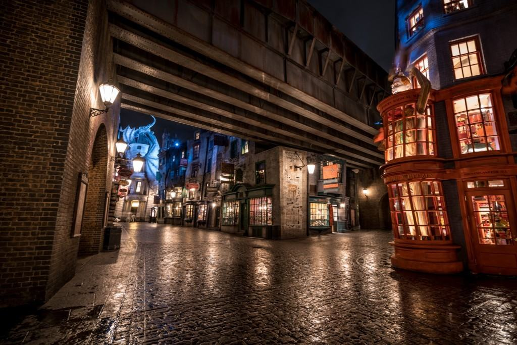 Diagon Alley at Universal Studios Florida