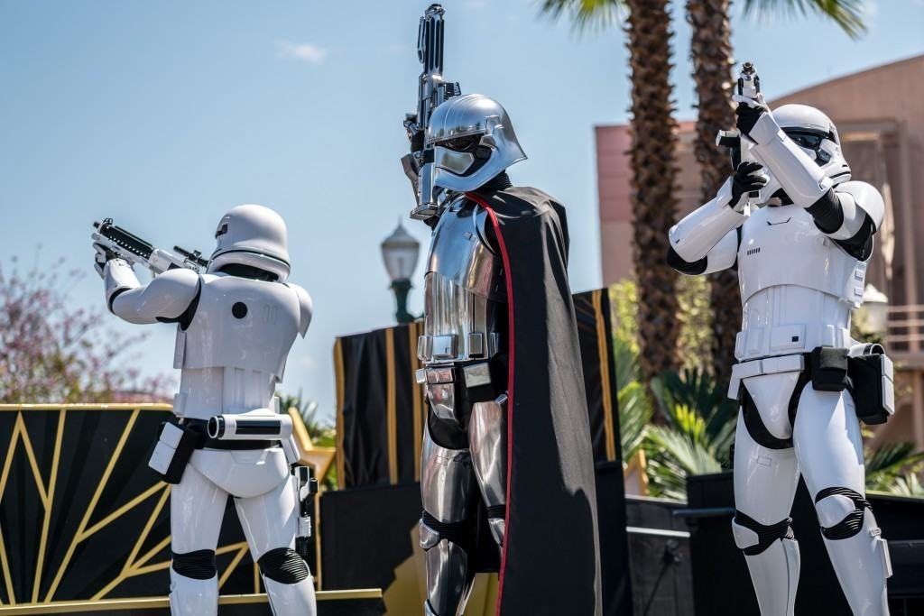 Captain Phasma at Disney's Hollywood Studios