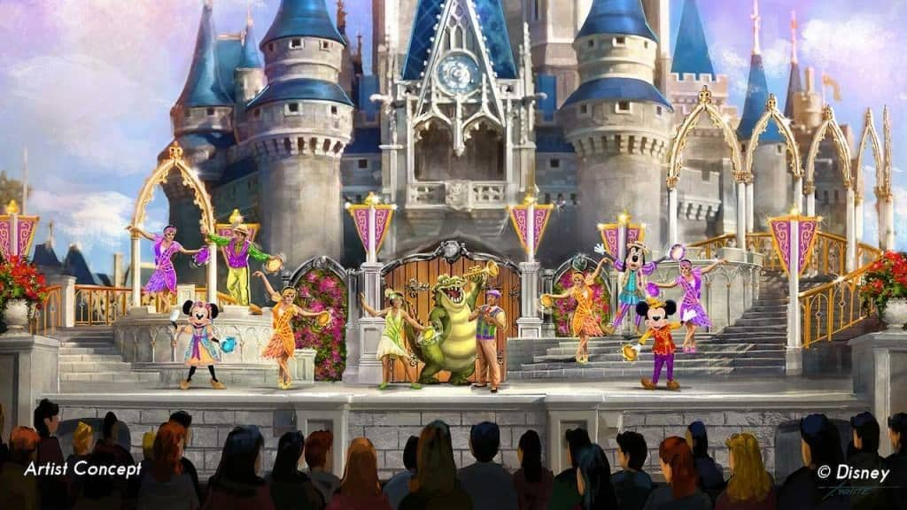 Mickey's Friendship Faire Concept Art at Disney's Magic Kingdom