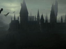 Dementors swirl around Hogwarts Castle