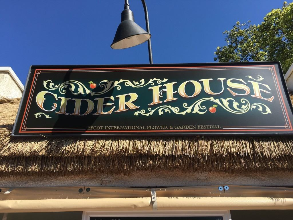 New this year, the Cider House, located near the United Kingdom pavilion