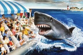 Jaws 1990 Universal Studios Florida