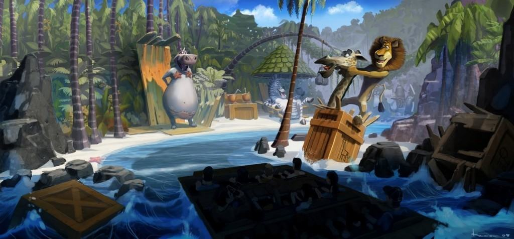 Madagascar A Crate Adventure Universal Studios Singapore
