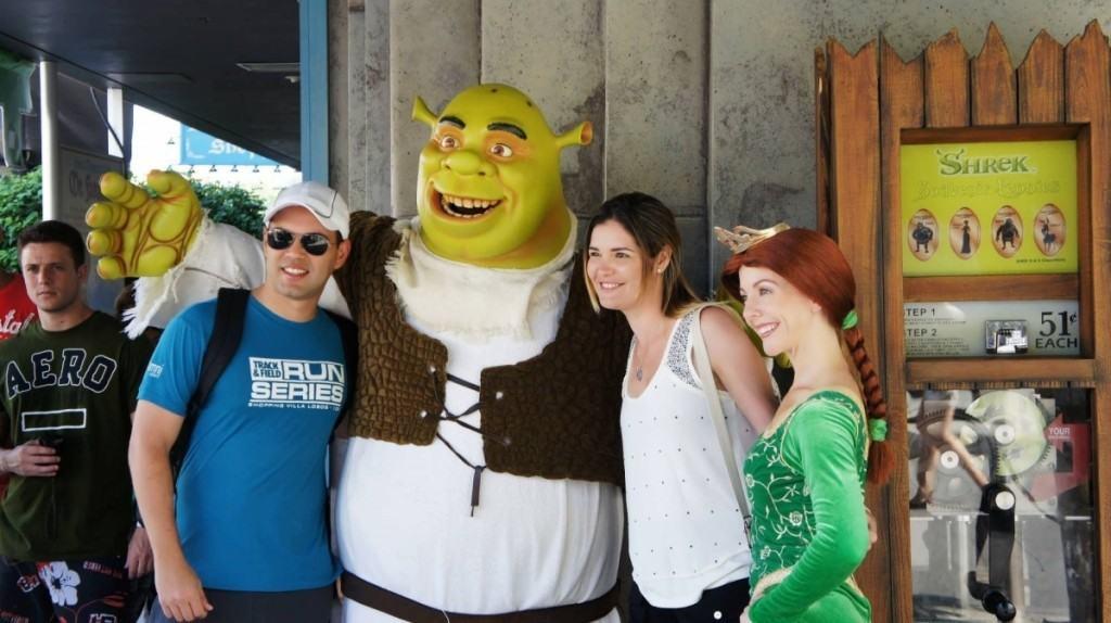 Shrek Princess Fiona meet-'n-greet Universal Studios Florida