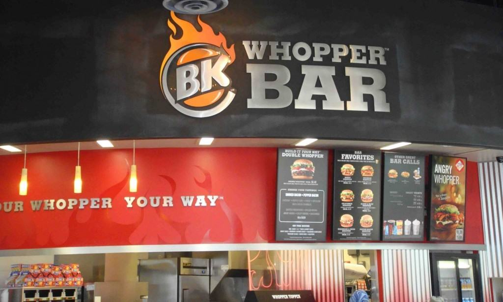 Burger King Whopper Bar at Universal's CityWalk