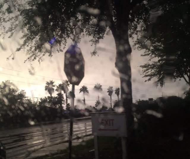 Rain in Orlando