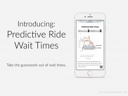 Predictive Ride Wait Times