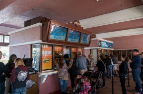 Ticket windows at Universal Studios Florida