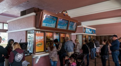 Ticket windows at Universal Studios Florida