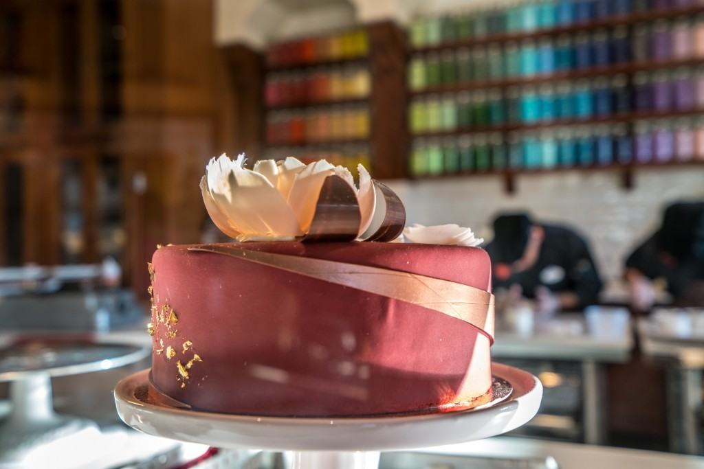 Cake at Amorette's Patisserie in Disney Springs