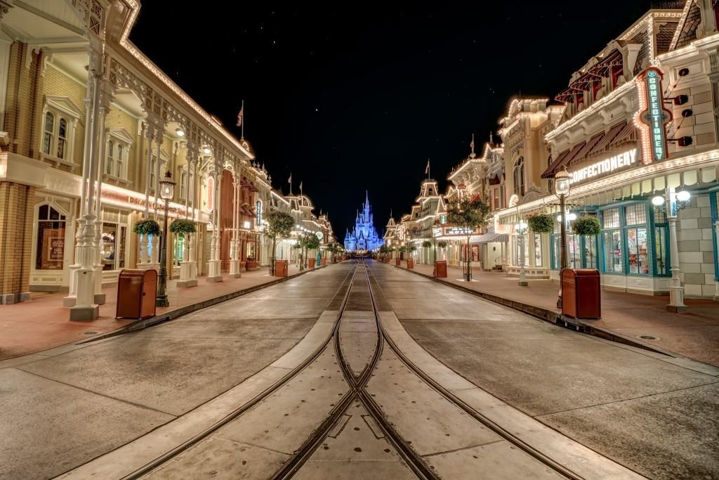 Main Street USA at Walt Disney World in Orlando, Florida