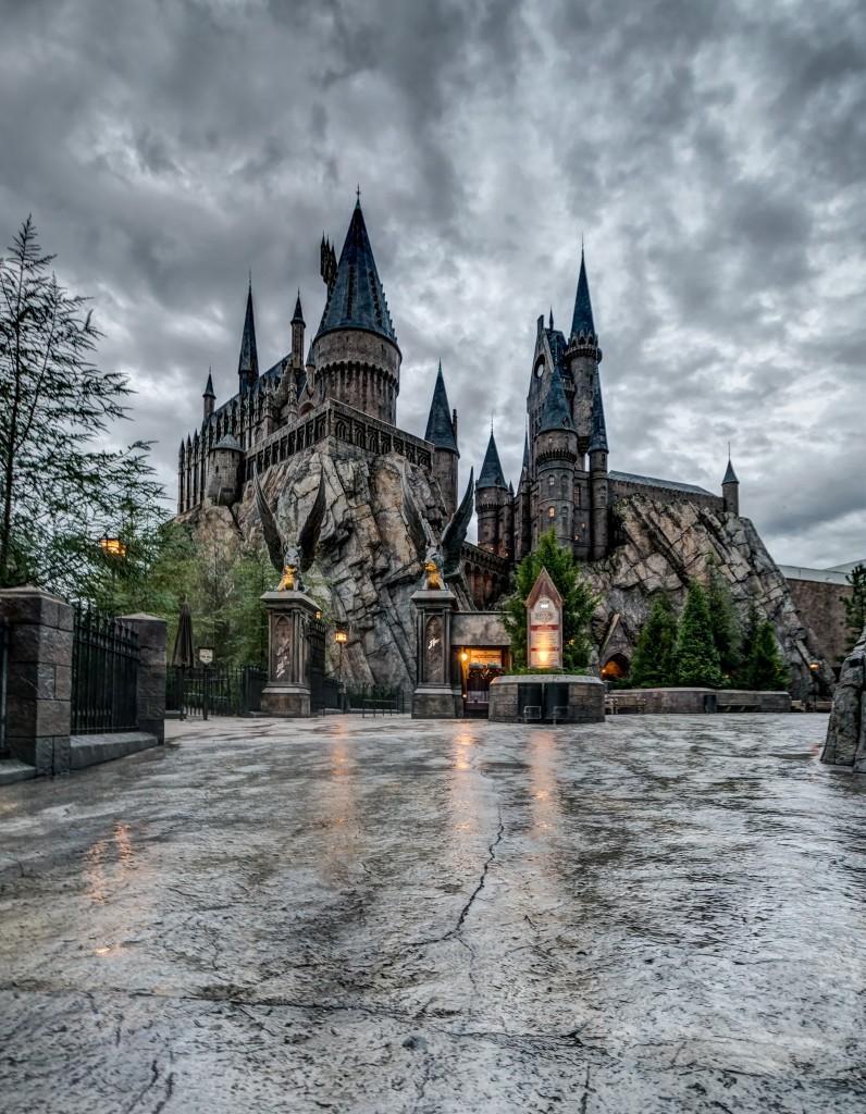 Hogwarts Castle inside The Wizarding World of Harry Potter - Hogsmeade at Universal Orlando Resort