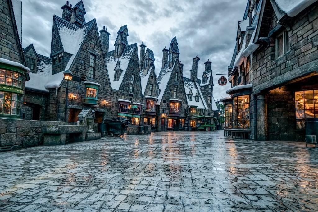 Hogsmeade Village inside The Wizarding World of Harry Potter - Hogsmeade at Universal Orlando Resort