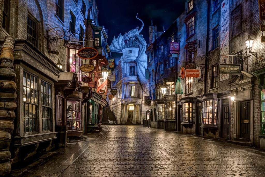 The Wizarding World of Harry Potter - Diagon Alley at Universal Studios Florida