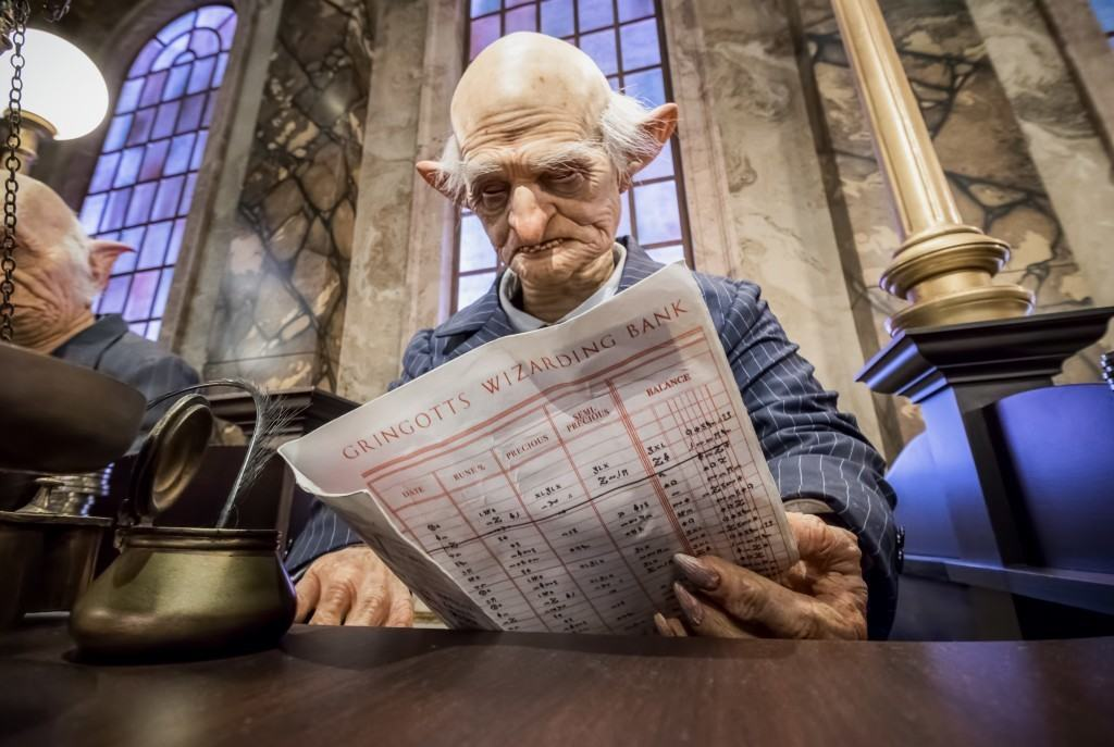 Gringotts Bank inside The Wizarding World of Harry Potter - Diagon Alley at Universal Studios Florida