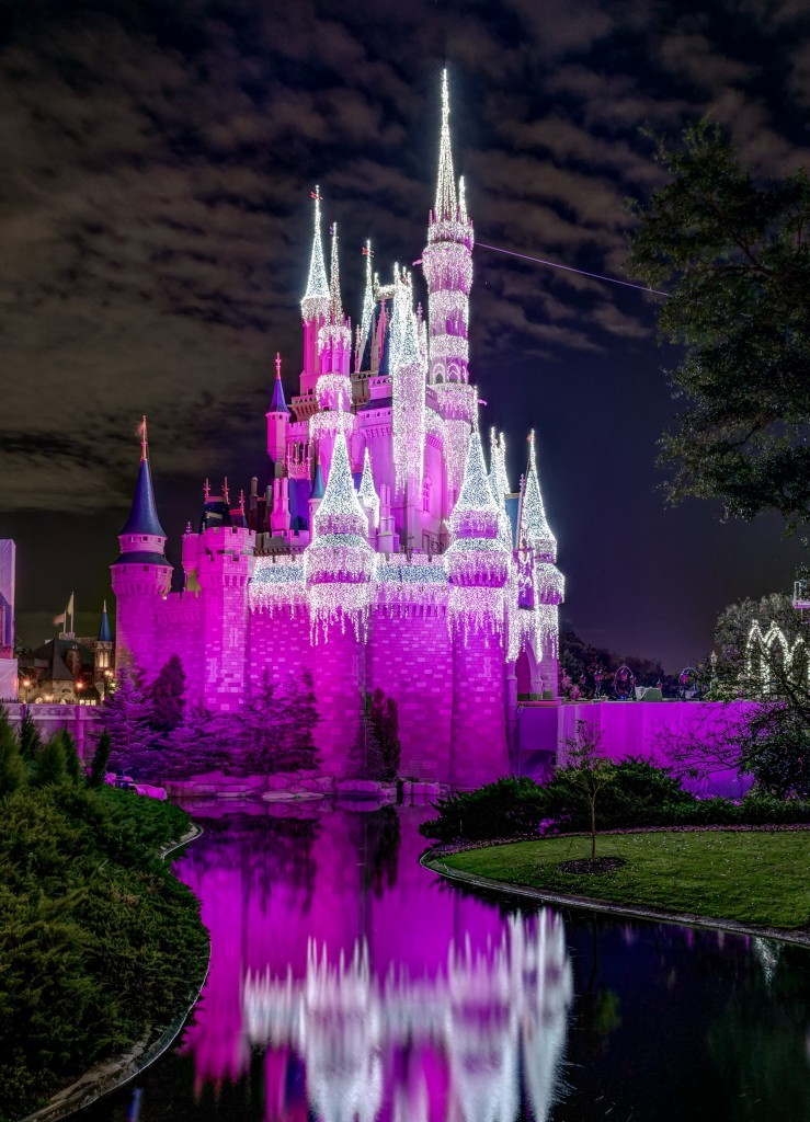 Cinderella Castle at Walt Disney World in Orlando, Florida