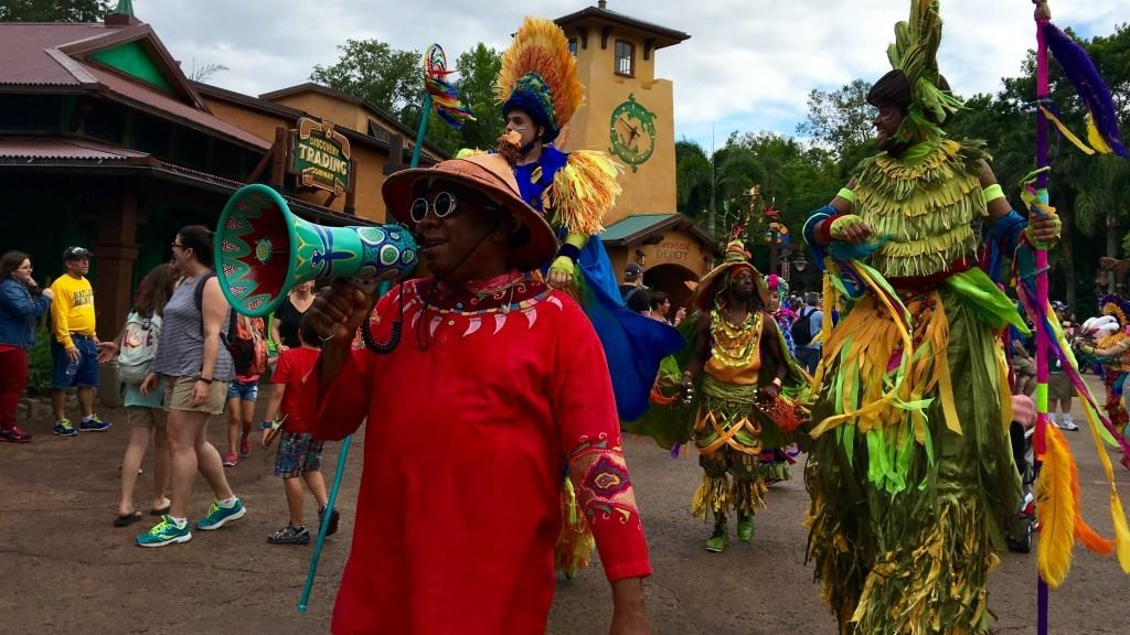 Discovery Island Carnivale at Disney's Animal Kingdom