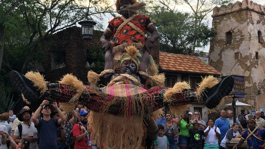Harambe Village Acrobats at Disney's Animal Kingdom