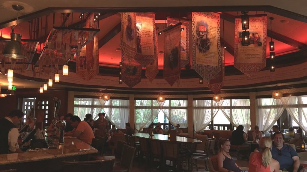 Nomad Lounge - indoor seating at Disney's Animal Kingdom