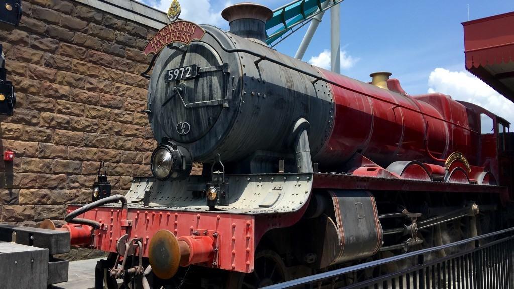 The Hogwarts Express at Universal Orlando Resort