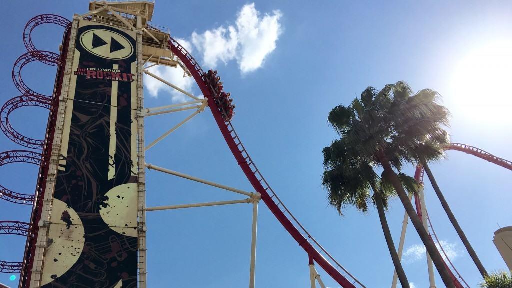 Hollywood Rip Ride Rockit at Universal Orlando Resort
