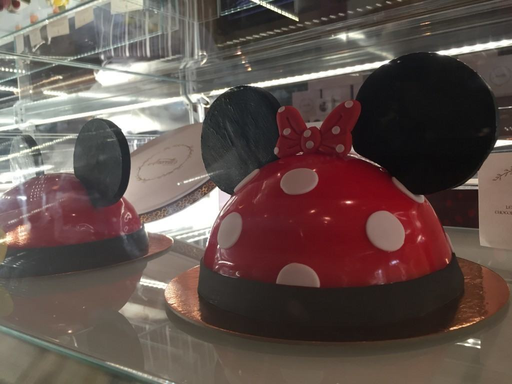 Specialty cakes at Amorette's Patisserie in Disney Springs