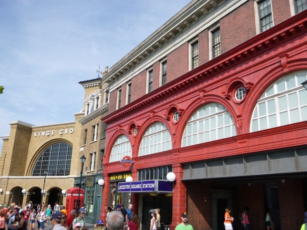 Leicester Square Station at Universal Studios Florida