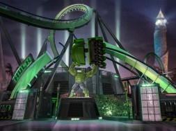 New Incredible Hulk Coaster entrance