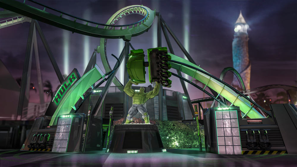 New Incredible Hulk Coaster entrance