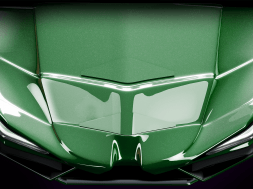 New Incredible Hulk Coaster ride vehicle — overhead