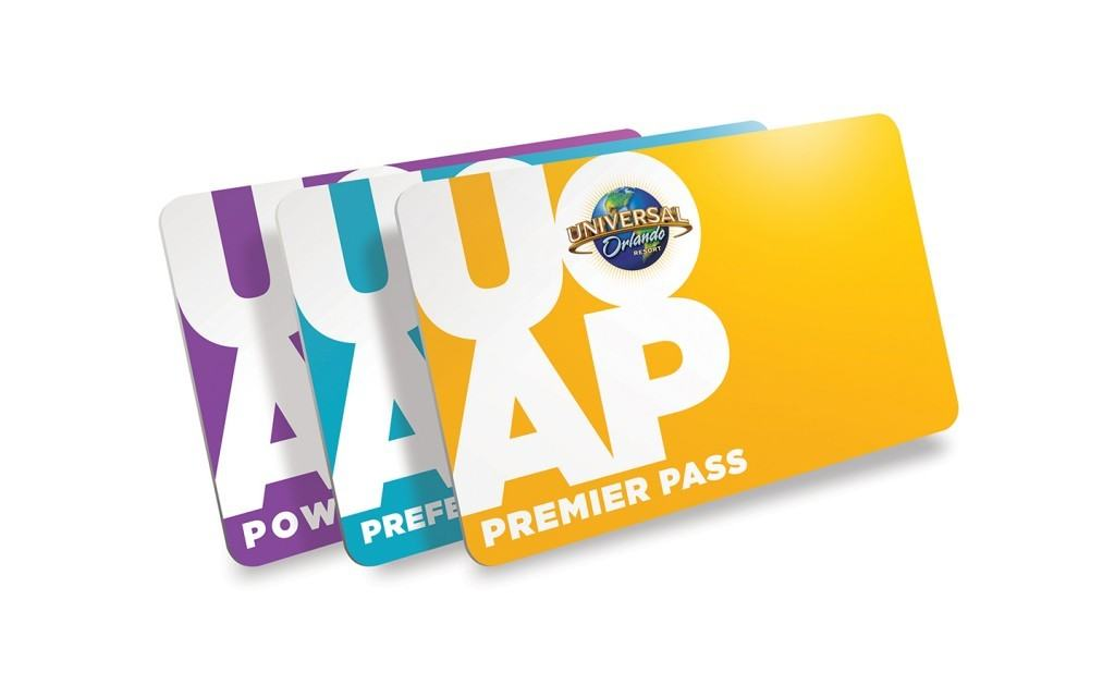 Universal Orlando Resort new plastic Annual Passes