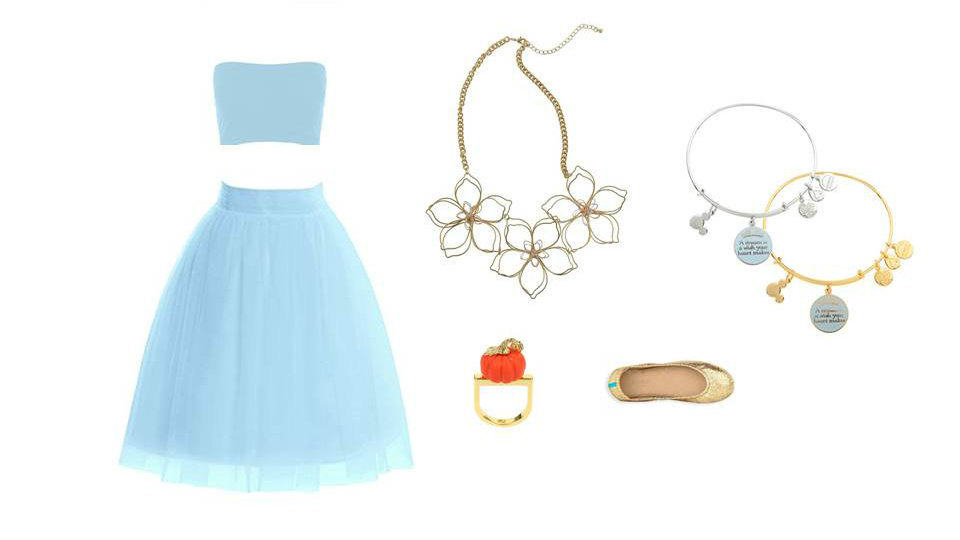 Disney's Cinderella inspired theme park look.