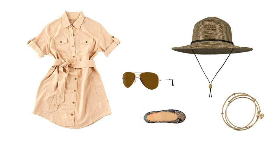Animal Kingdom's Kilimanjaro Safari theme park inspired look