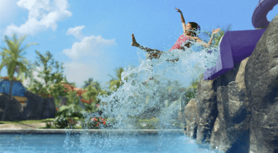 Volcano Bay's Ohyah and Ohno drop slides
