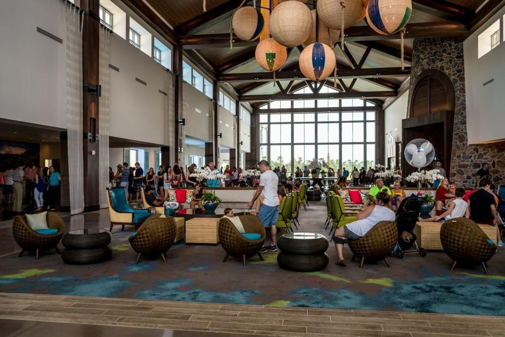 Loews Sapphire Falls Resort Lobby