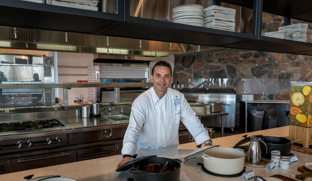 Nando Belmonte, Complex Executive Chef at Loews Sapphire Falls Resort and Loews Royal Pacific Resort