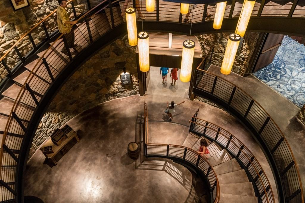 Loews Sapphire Falls Resort Spiral Staircase