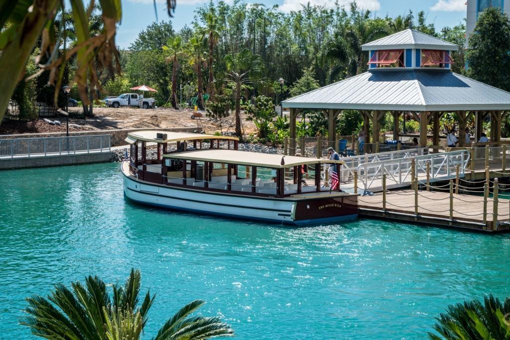 Water Taxi at Loews Sapphire Falls Resort