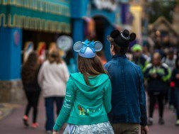 A couple in Fantasyland at the Magic Kingdom