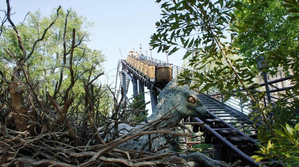 Flight of the Hippogriff at Universal's Wizarding World of Harry Potter 2011.
