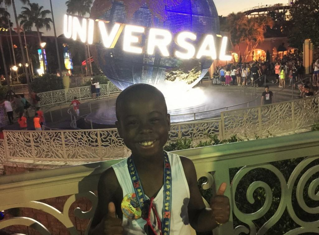 Universal Orlando birthday vacation