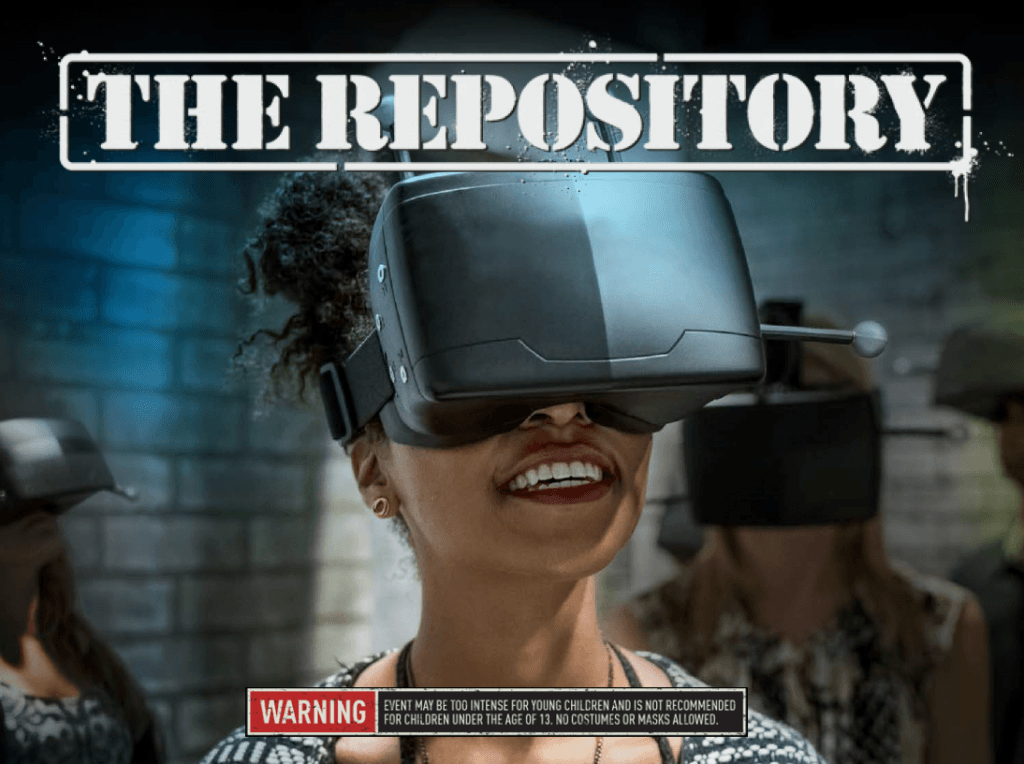 the repository virtual reality experience at universal orlandos halloween horror nights 26