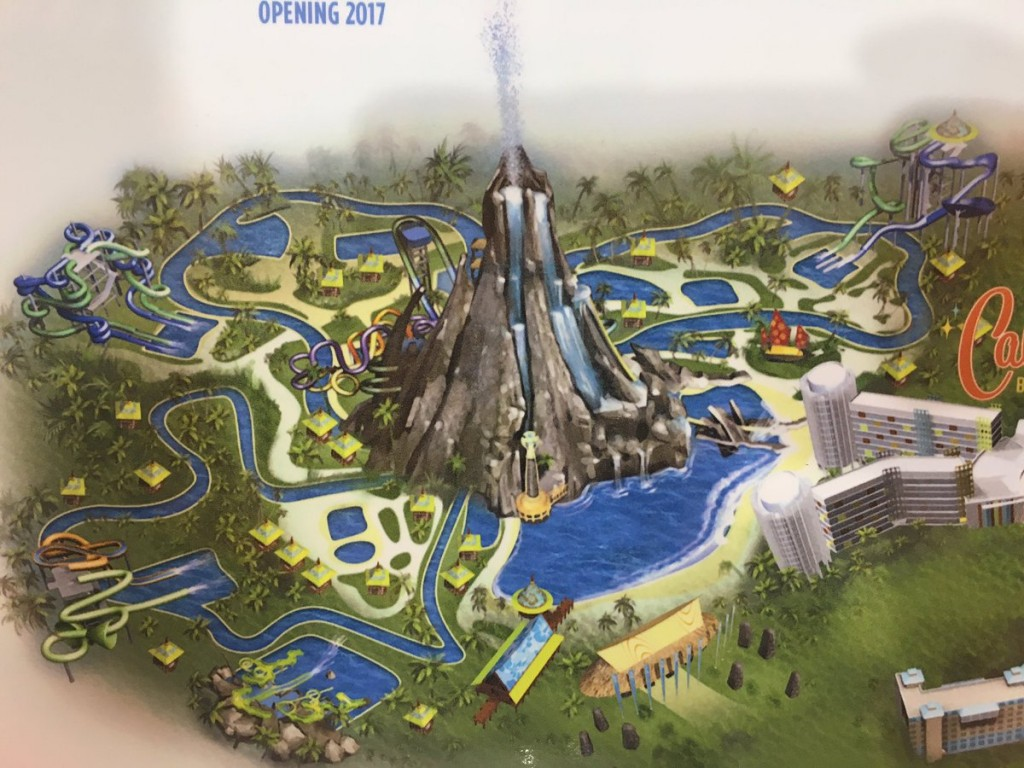 Volcano Bay map zoom in