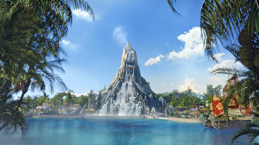 Wave Village and Krakatau at Universal's Volcano Bay