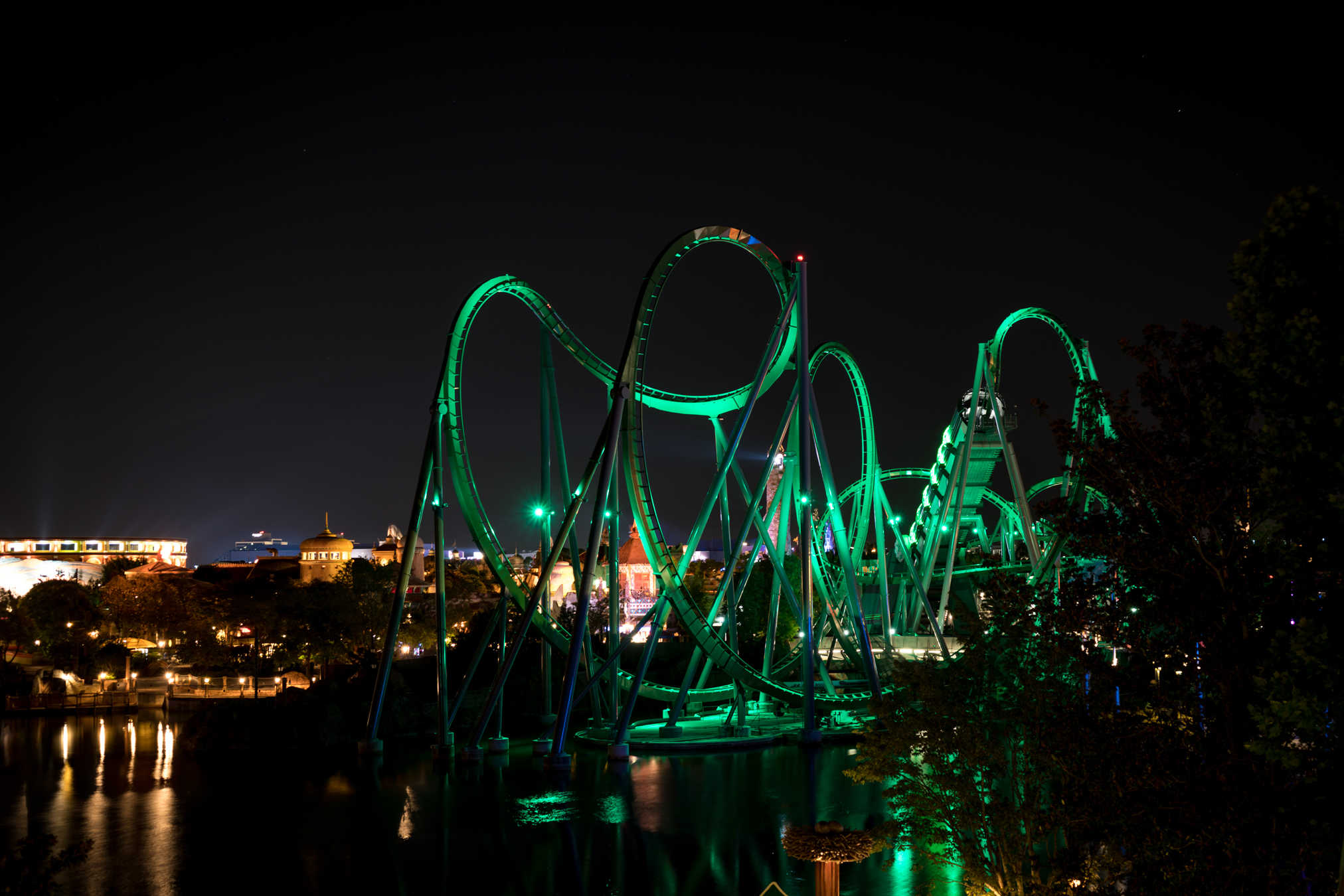 Incredible Hulk Coaster begins to roar back to life