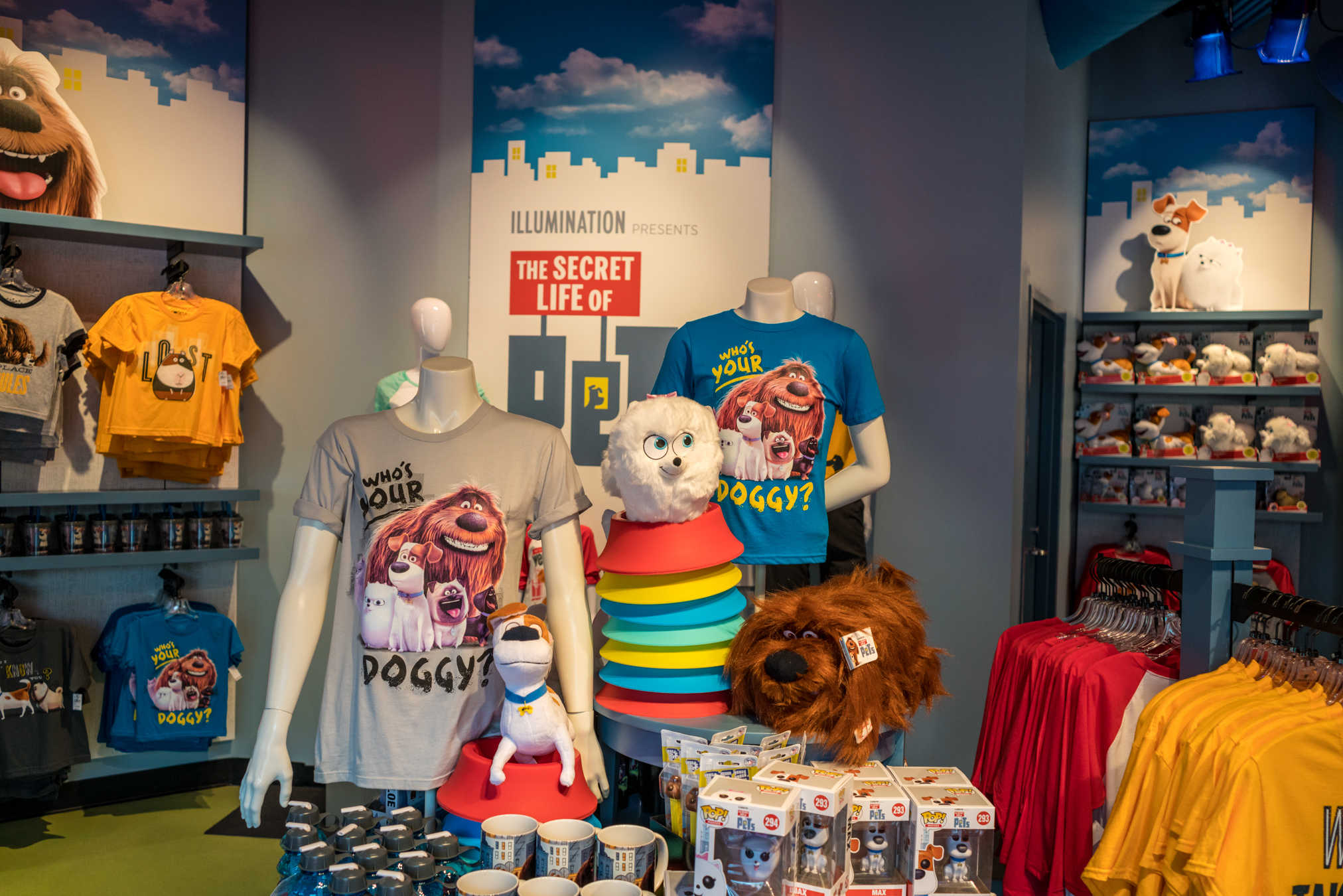 'Secret Life of Pets' store opens, attraction rumors intensify