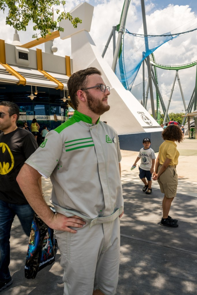 Incredible Hulk Coaster new uniforms