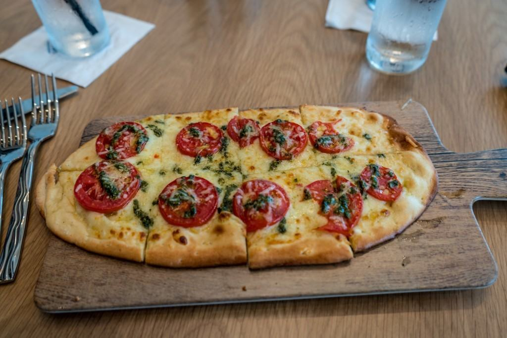 Margherita Pizza from Amatista Cookhouse at Loews Sapphire Falls Resort